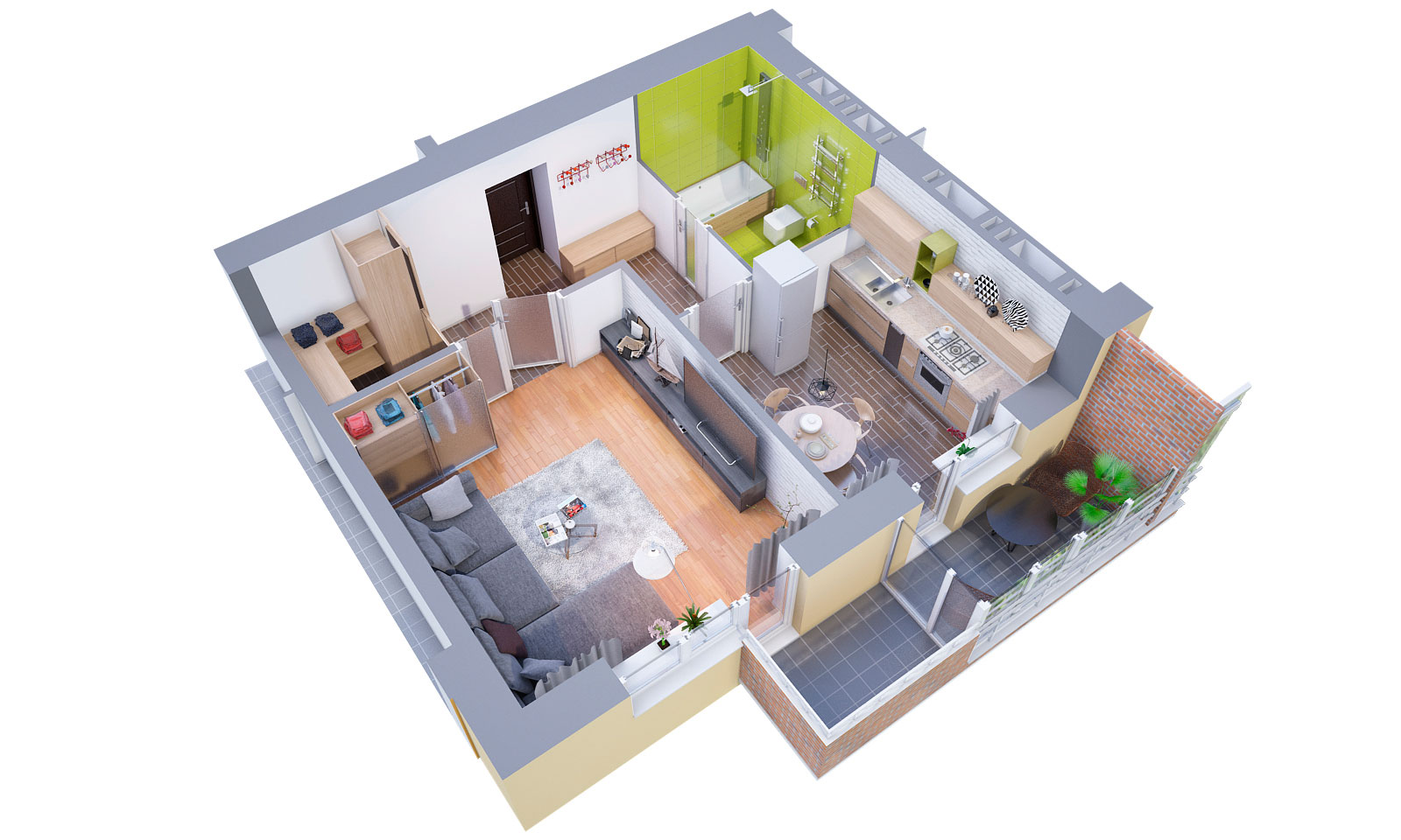 3D Floor Plans / 3d Modeling And Visualization