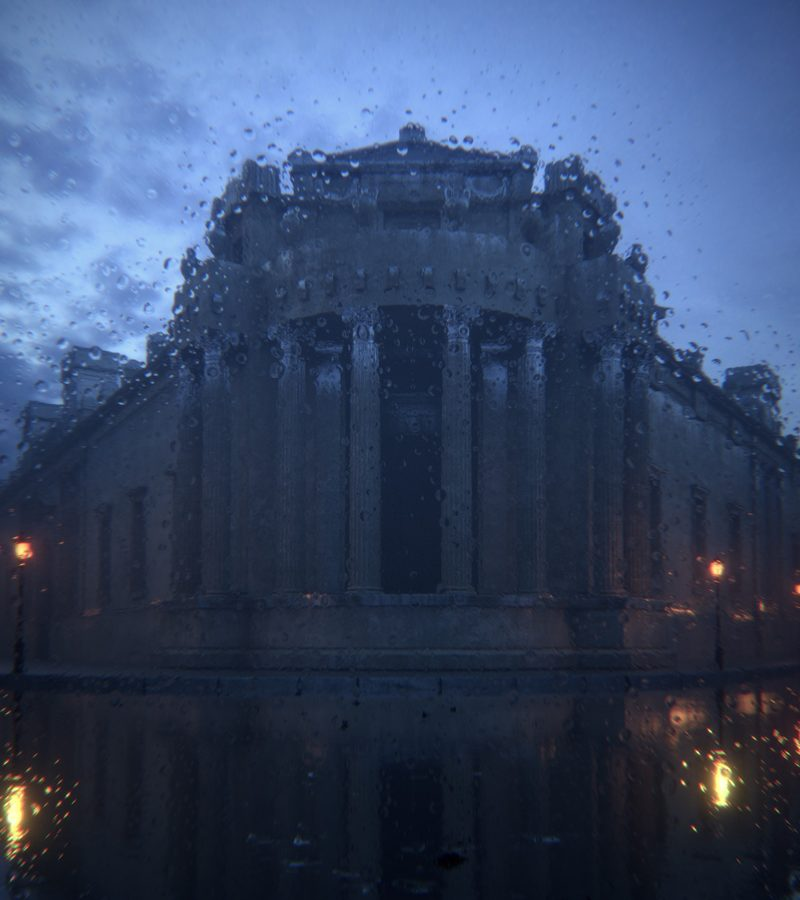Project Soane / Historic Rendering Competition Project