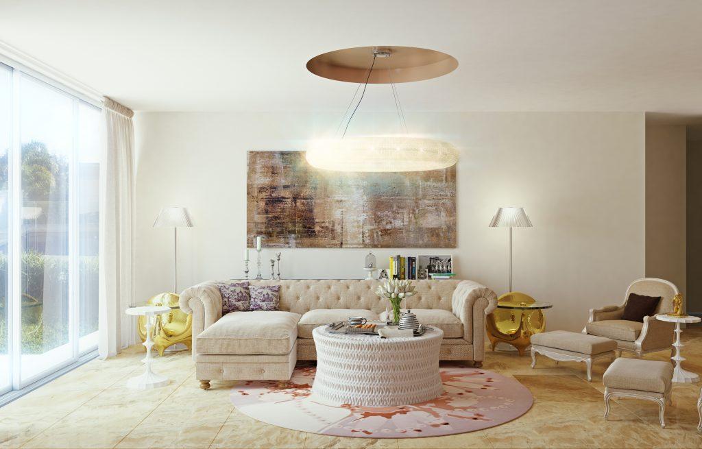 Interior Visualization / Marvelous Living room Interior Design