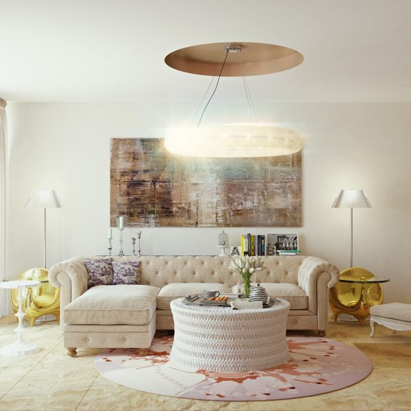 Interior Visualization / Marvelous Living room Interior Design