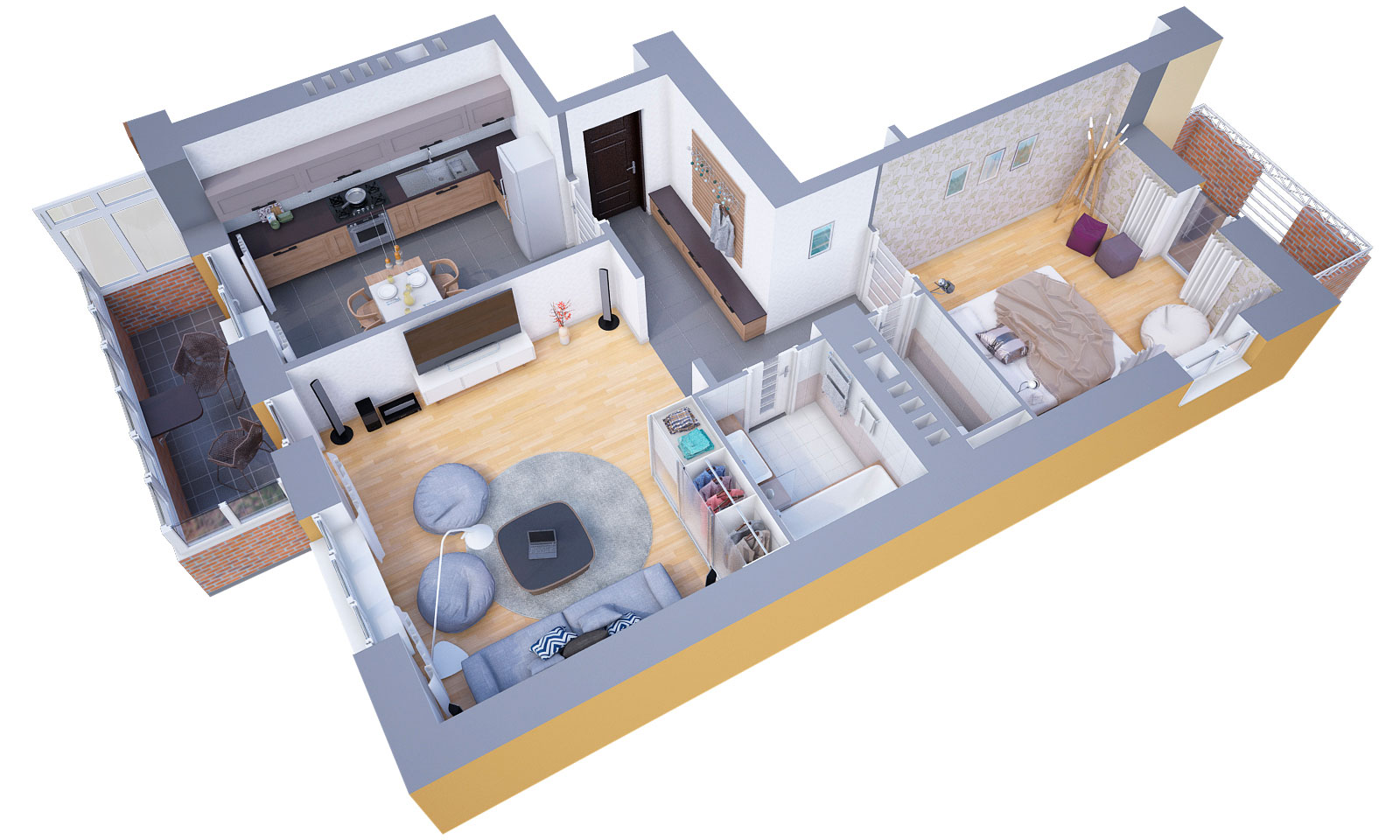 3d floor plans 3dvisdesign for 3d floor design