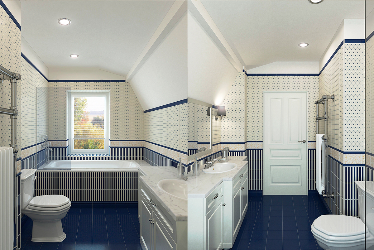 Bathroom Interior Visualization
