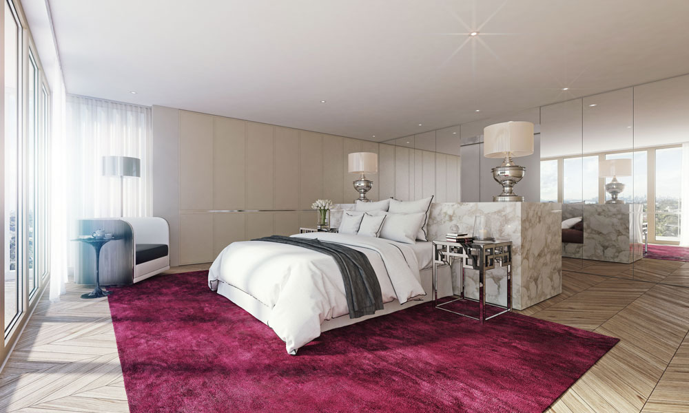 Interior Visualization / Bedrooms Interior Designs