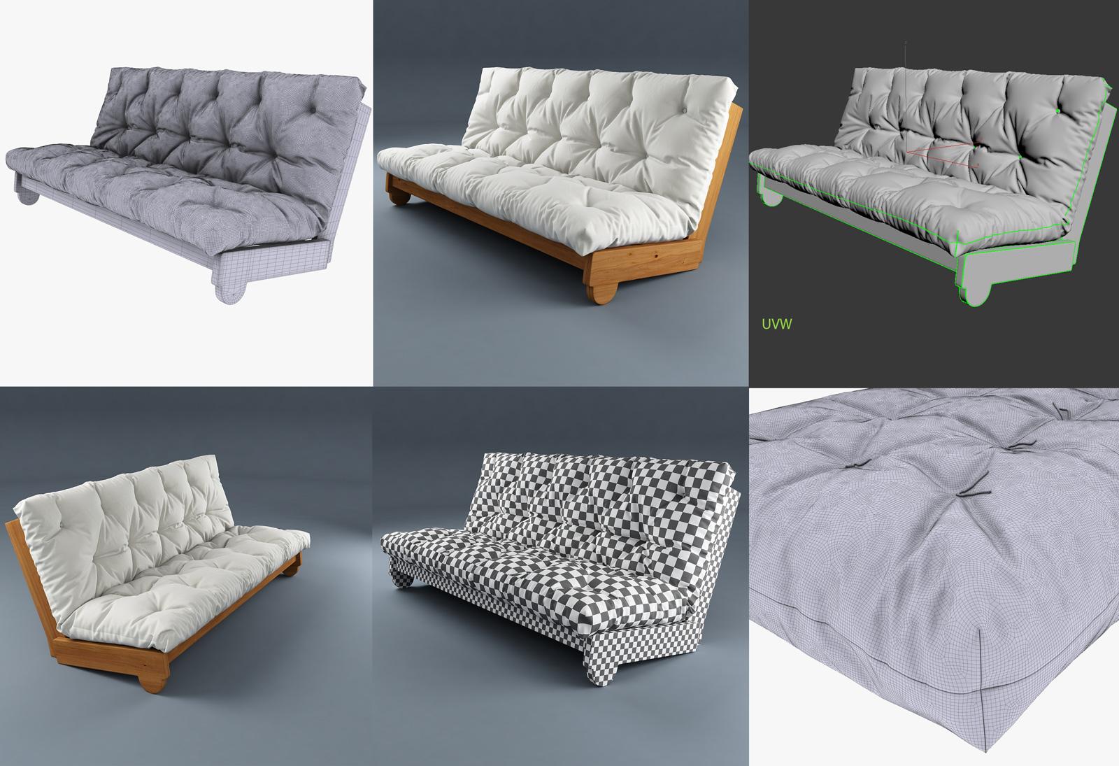 3d modeling of furniture
